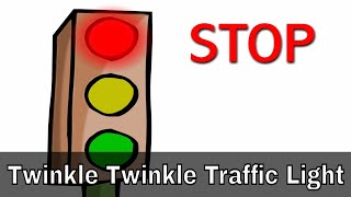 Twinkle Twinkle Traffic Light - English Nursery Rhymes - Cartoon/Animated Rhymes For Kids