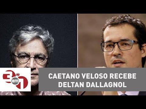 Caetano Veloso Recebe Procurador Da República Deltan Dallagnol
