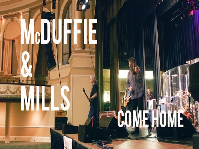 Mike Mills And Robert McDuffie Bring A Concerto Home