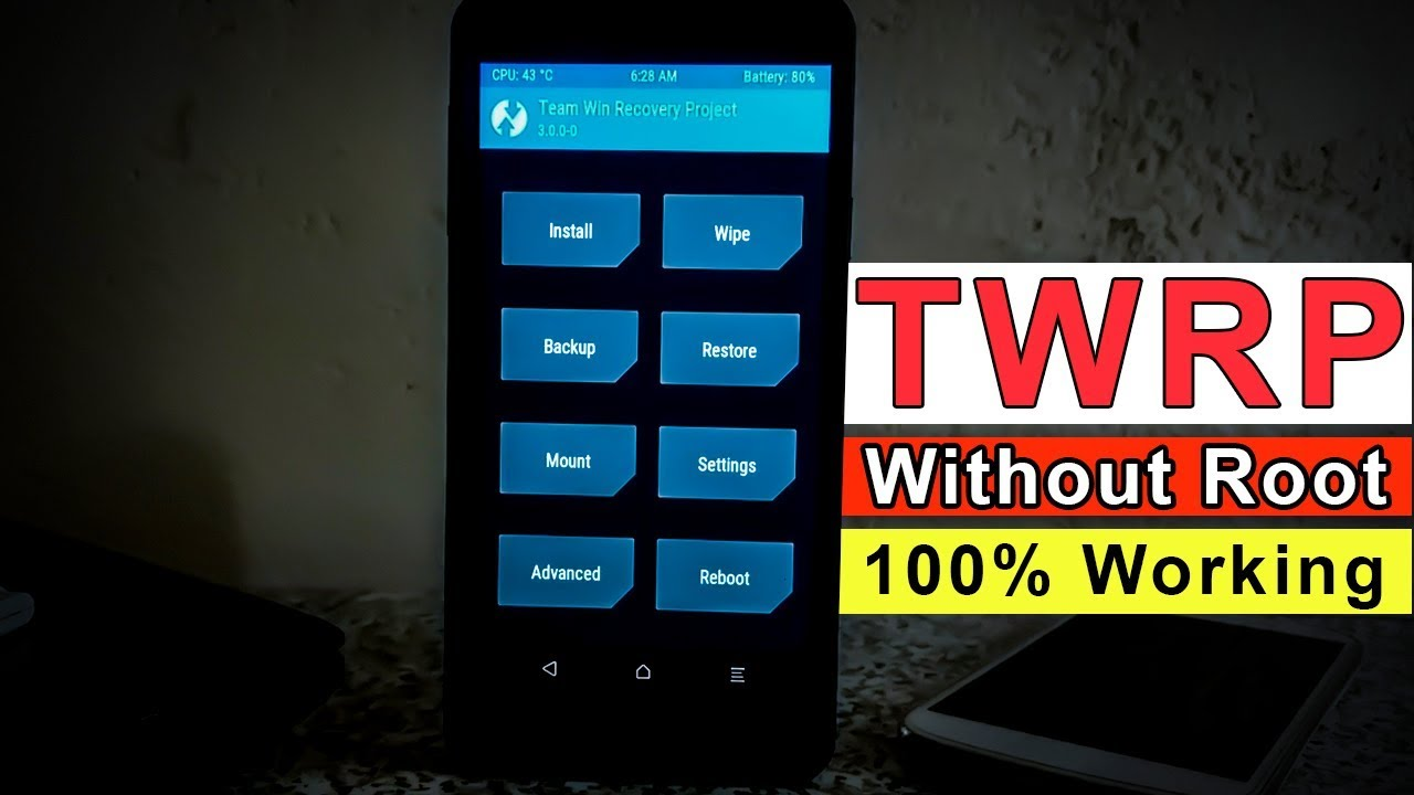 [no root] Install TWRP Recovery On Any Android Phone | Custom Recovery  Android 2019 Easy Method