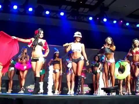 Fitness America 2011, Las Vegas Nevada short class top ten call outs
