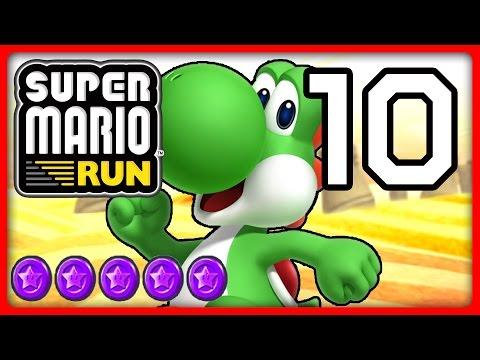 SUPER MARIO RUN Part 10: Yoshi flattert zu lila Münzen von World 5 & 6