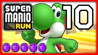 SUPER MARIO RUN Part 10: Yoshi flattert zu lila Münzen von World 5 & 6