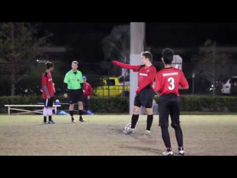 U16 - Coral Springs Soccer (Red vs Royal Blue)