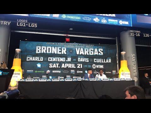Broner Vargas - press conference- EsNews
