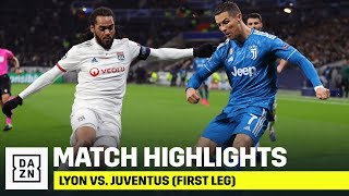 HIGHLIGHTS | Lyon vs. Juventus: First Leg (UEFA Champions League)
