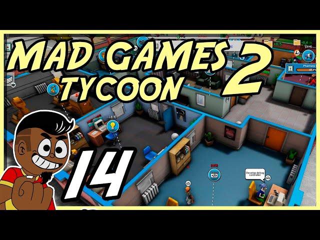 SAINDO DO SUFOCO??! #014 - Mad Games Tycoon 2 - Tonny Gamer