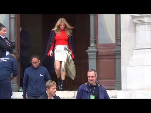 Ellie GOULDING @ Paris Fashion Week 2 october 2017 show Stella McCartney #PFW