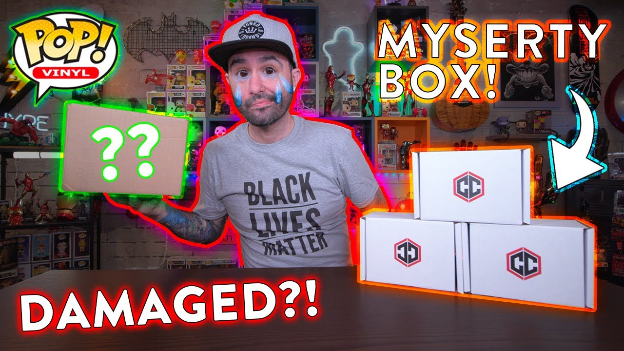 Risky Funko Pop Mystery Box Unboxing from Chalice Collectibles!