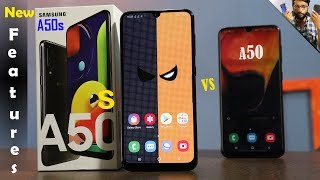 Samsung Galaxy A50s New Features Compared to Galaxy A50