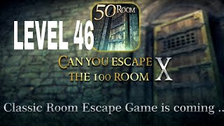 Can You Escape The 100 room X level 46 Walkthrough