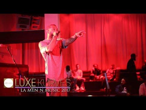 LUXE Kurves T.V. Covers the LA Men-n-Music Event