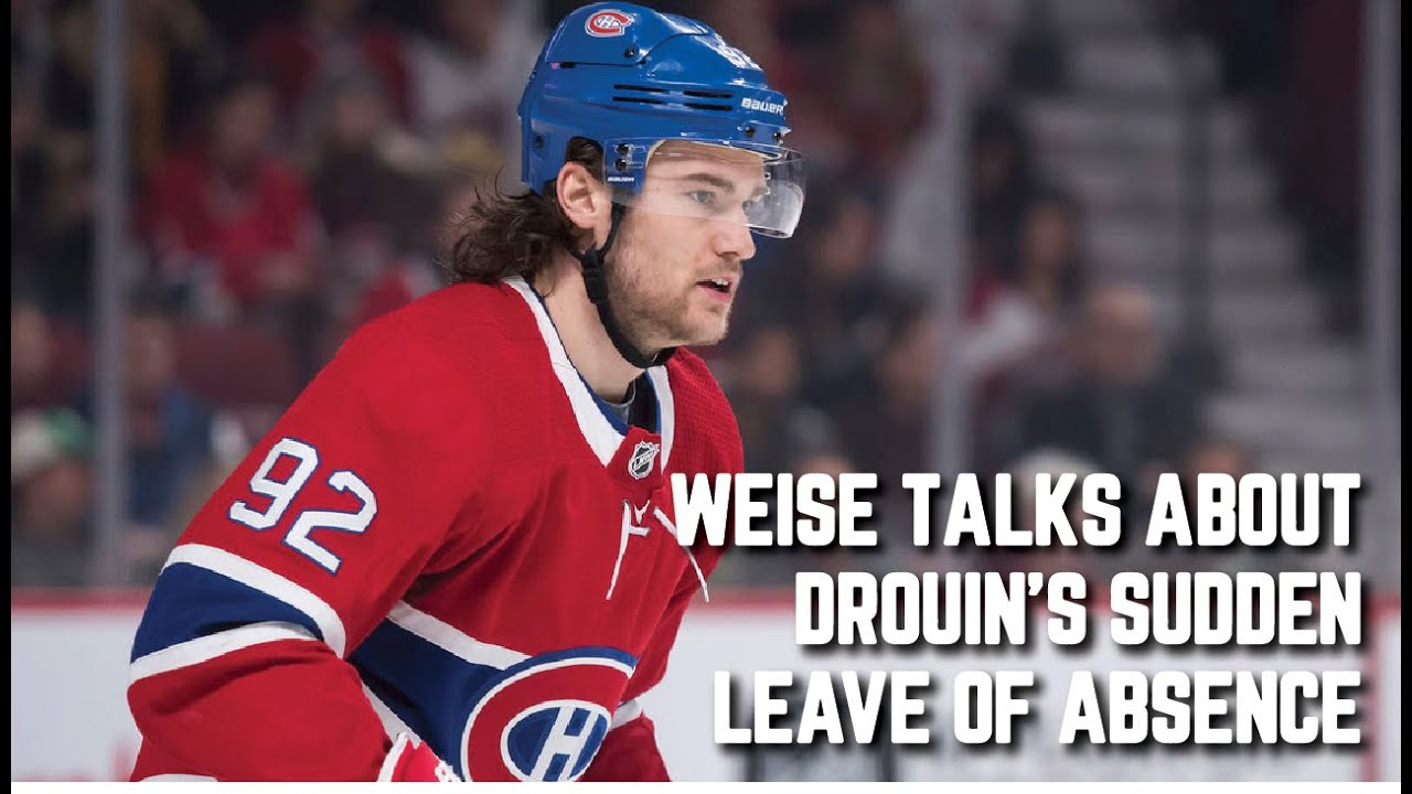 Weise on Jonathan Drouin's Sudden Personal Leave of Absence | Habs Tonight Highlights