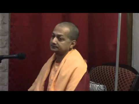 "Swami Sarvapriyananda  on ""Live in the World like a Lotus Leaf"""