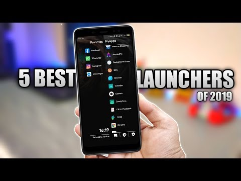 Best Android Launchers Of 2019   Top 5 Best Launcher 🔥