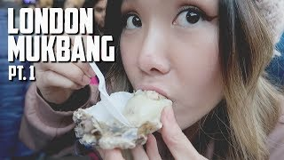 LONDON mini MUKBANG || Borough Market Pt. 1