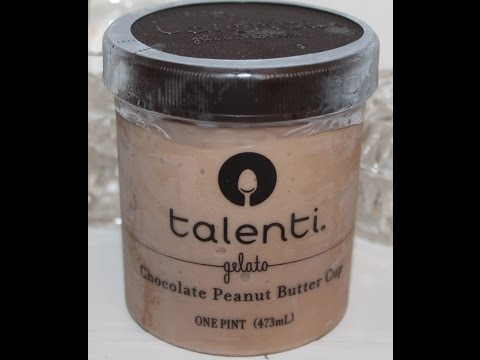 Talenti Gelato: Chocolate Peanut Butter Cup Review