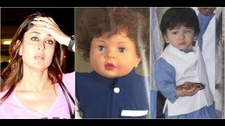 Kareena Kapoor reacts on son 'Taimur' inspired doll & it's wonderful