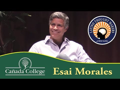 Cañada College Thought Makers - Esai Morales