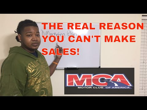 MCA Training  The Real Reason You Can't Make Sales