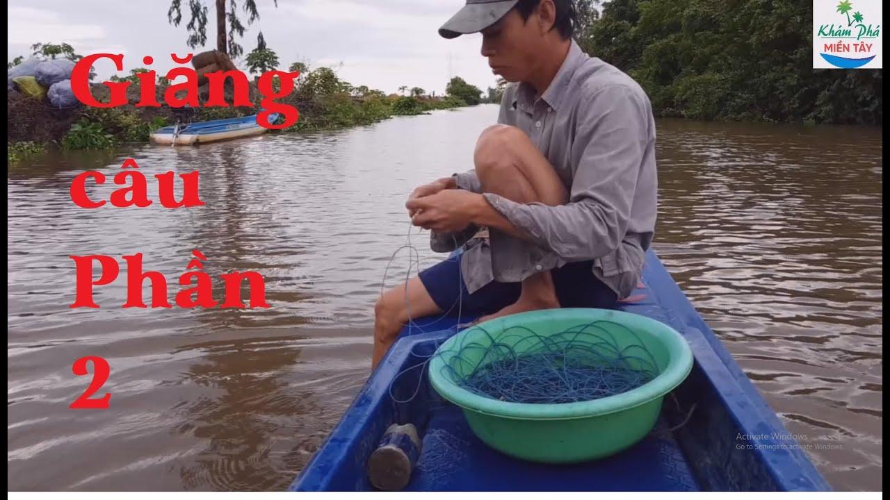 191 | Giăng câu cá trê về nhúng mẻ P2 | Fishing