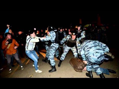Ужас ! В Москве задержали группу людей, которые устроили бойню столичном метро.