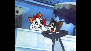 """Tom and Jerry Cartoon - Solid Serenade - Tom singing """"Is You Is or Is You Ain't My Baby"""" (1946)."""