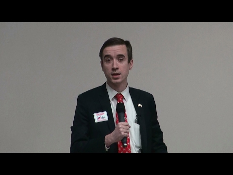 Alex Johnson, candidate for Georgia Republican Party Chairman 02/11/17