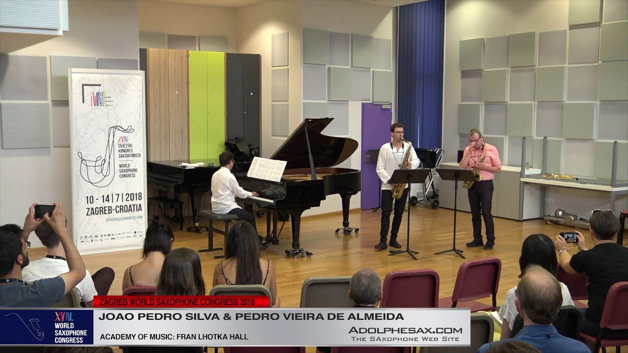 CLose your eyes and listen by Astor Piazzolla   Joao Pedro Silva & Pedro Vieira de Almeida   XVIII W