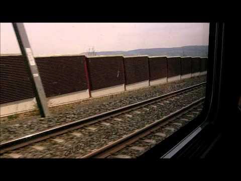 TGV 9576 Munchen - Paris Est - Train View
