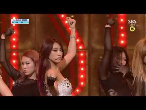 씨스타 (SISTAR) [intro / Give it to me] @SBS Inkigayo 인기가요 20130617