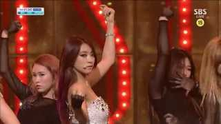 SISTAR [Intro / Give it to me] @SBS Inkigayo Popular song 20130617