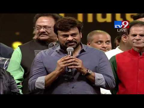 Megastar Chiranjeevi Speaks @ TSR-TV9 National Film Awards !
