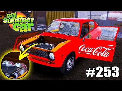 My Summer Car - Coletor Dimensionado e Carburador Duplo #253