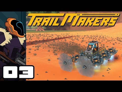 Let's Play Trailmakers Multiplayer - PC Gameplay Part 3 - Experiments With Gravity!
