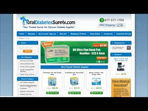TotalDiabetesSupply.com Review & Total Diabetes Supply Coupon Codes, Deals & Offers