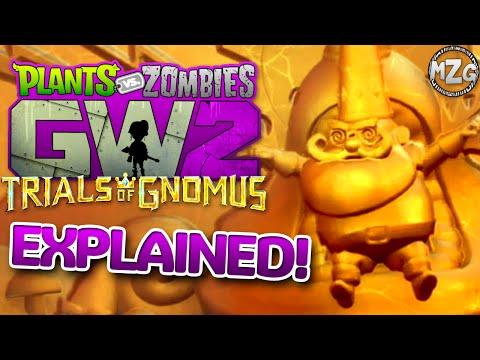 Trials of Gnomus EXPLAINED!! Part 1! - Plants vs  Zombies