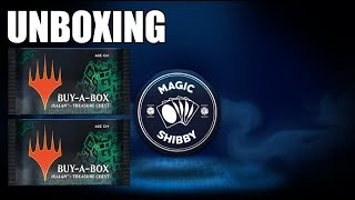 Buy-A-Box Ixalan-Treasure Chest Infos + Unboxing + Give-Away