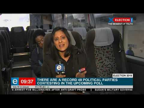 #ElectionBus is in Cape Town