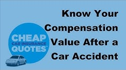 2017 Auto Accident Facts  | Know Your Compensation Value After a Car Accident