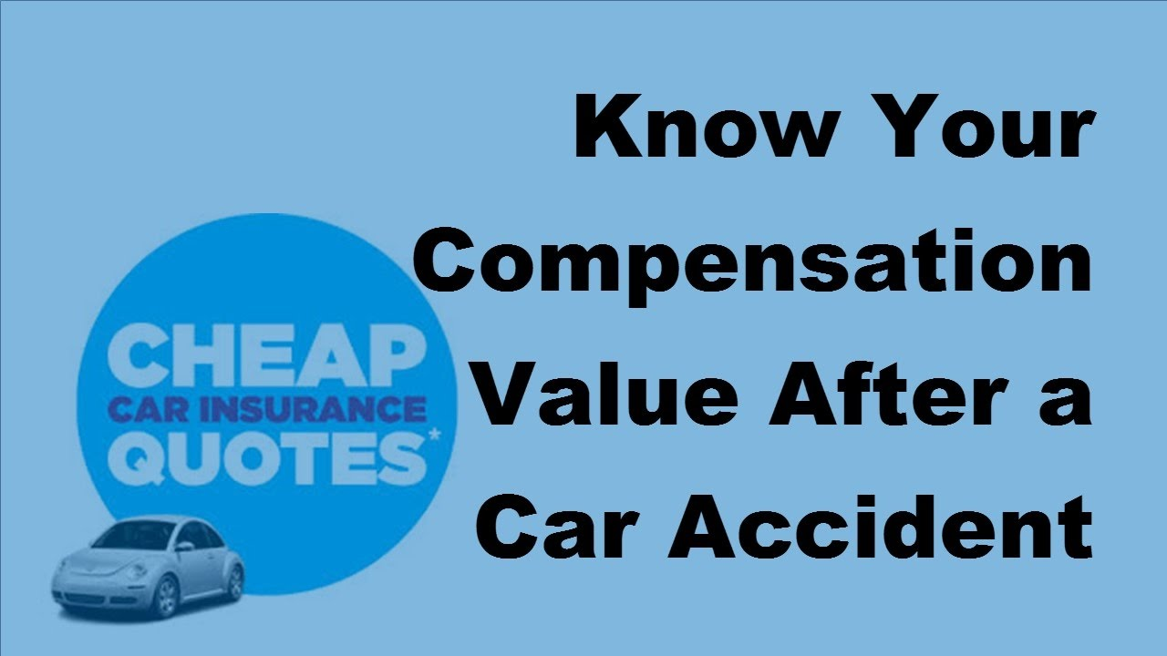 2017 Auto Accident Facts   Know Your Compensation Value After a Car ...