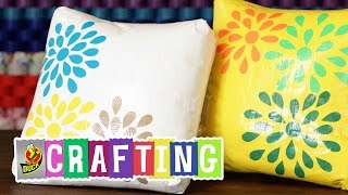 Duck Tape Crafts: How To Make A Decorative Pillow