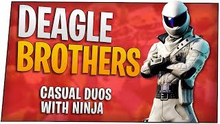 Fortnite - Deagle brothers with Ninja - November 2018 | DrLupo