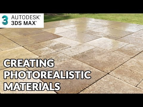 3ds max tutorial - How to create Photo realistic Materials