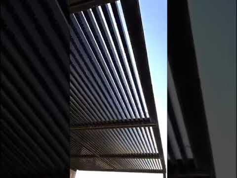 مظلة التويبات جسور حديد علئ الداير والتيوبات الداخلية المنيوم 4 في 8 سم جميلة خفيفة Youtube