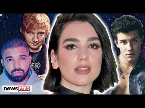 Dua Lipa SHADES Popular Male Artists For Doing Nothing Onstage!