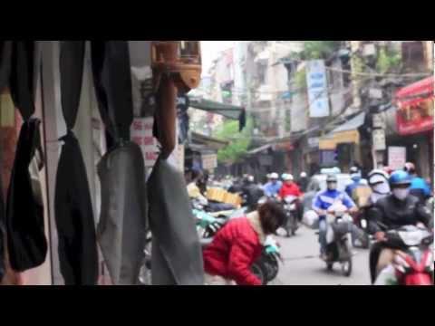 สำรวจตลาดเวียดนามเหนือ เมือง ha noi