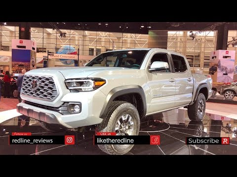 2020 Toyota Tacoma – Redline: First Look – 2019 Chicago Auto Show