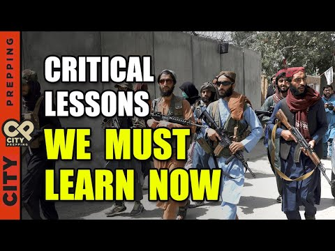 The Rapid Fall of Afghanistan - 5 Lessons To Be Learned