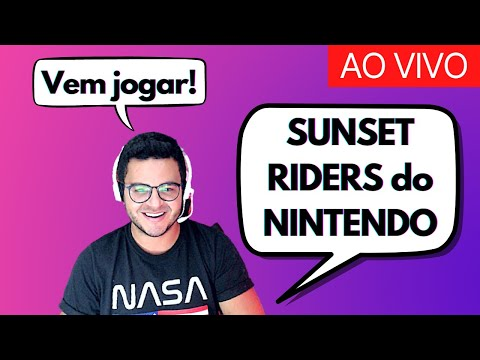 LIVE GAMER: Jogando SUNSET RIDERS ao vivo (NINTENDO) | Jogos antigos do Super Nintendo